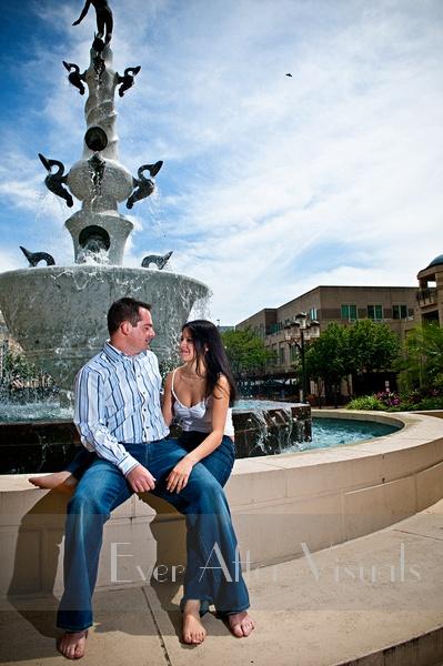 Reston Town Center Wedding Photographer