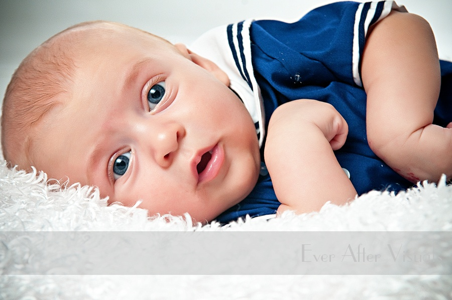 Alistair at his 3 month Bebe Coterie