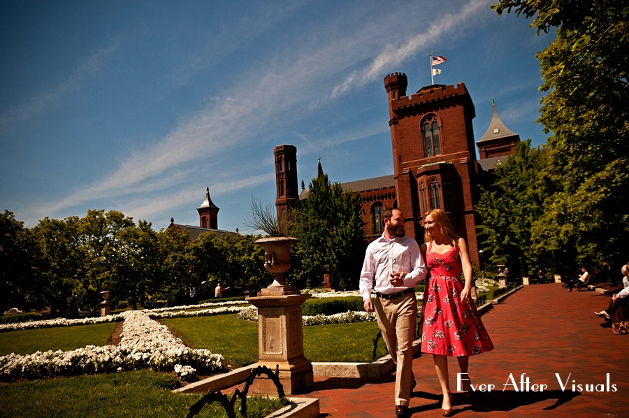 Smithsonian-Castle-Engagement-Washington-DC-002