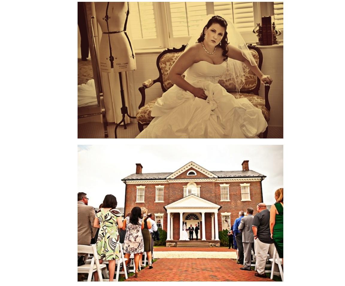bridal portrait, venue
