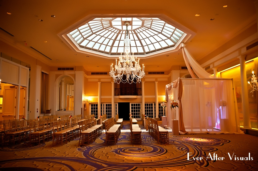 Mayflower ballroom, Bergerons flowers, Chuppah
