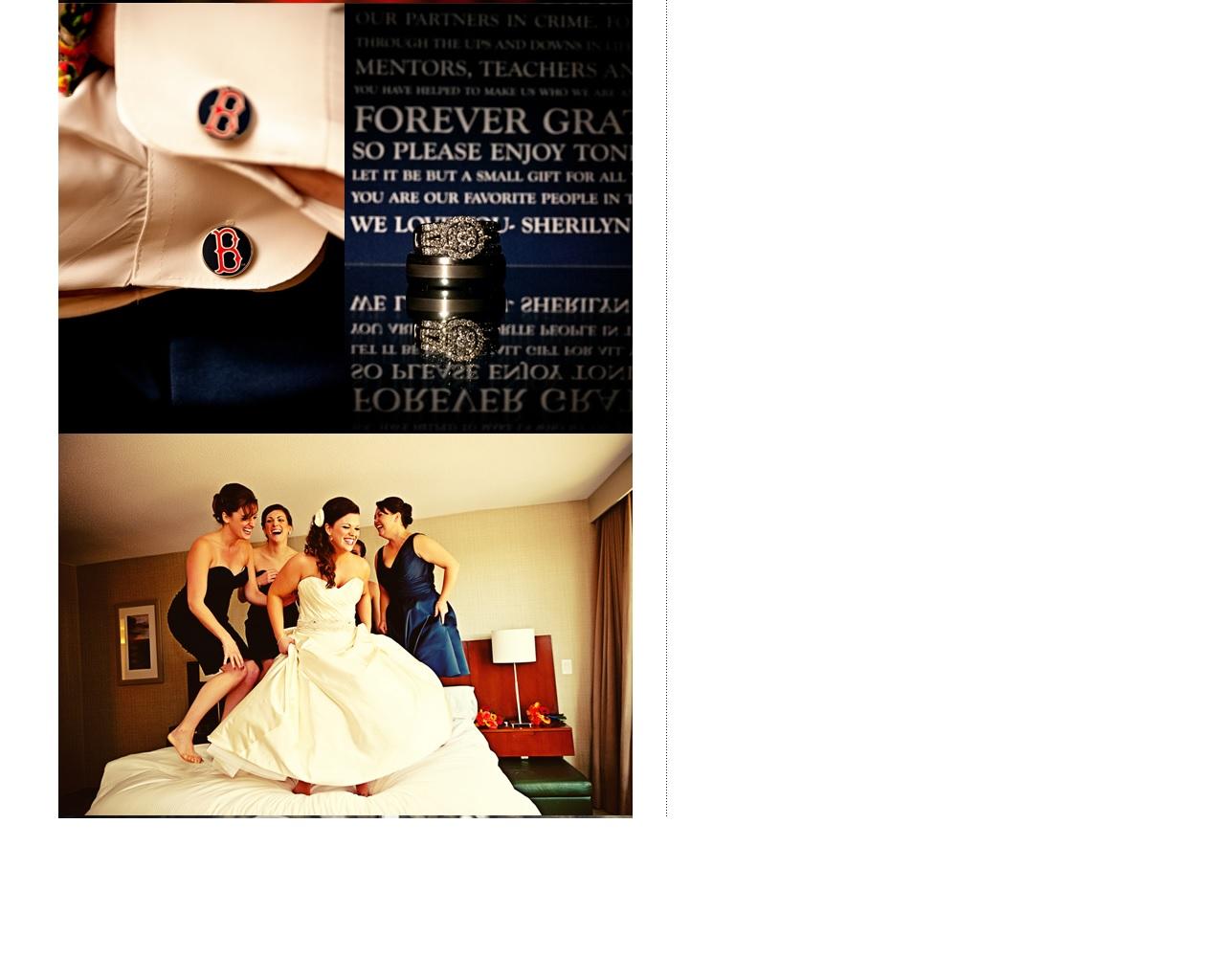wedding ring & bridal party