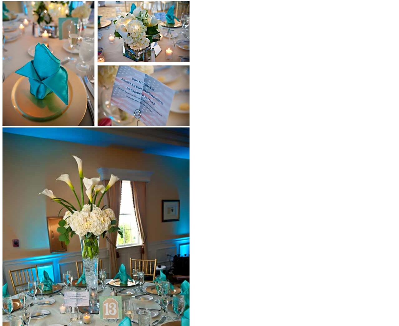 decor -Belmont Country Club