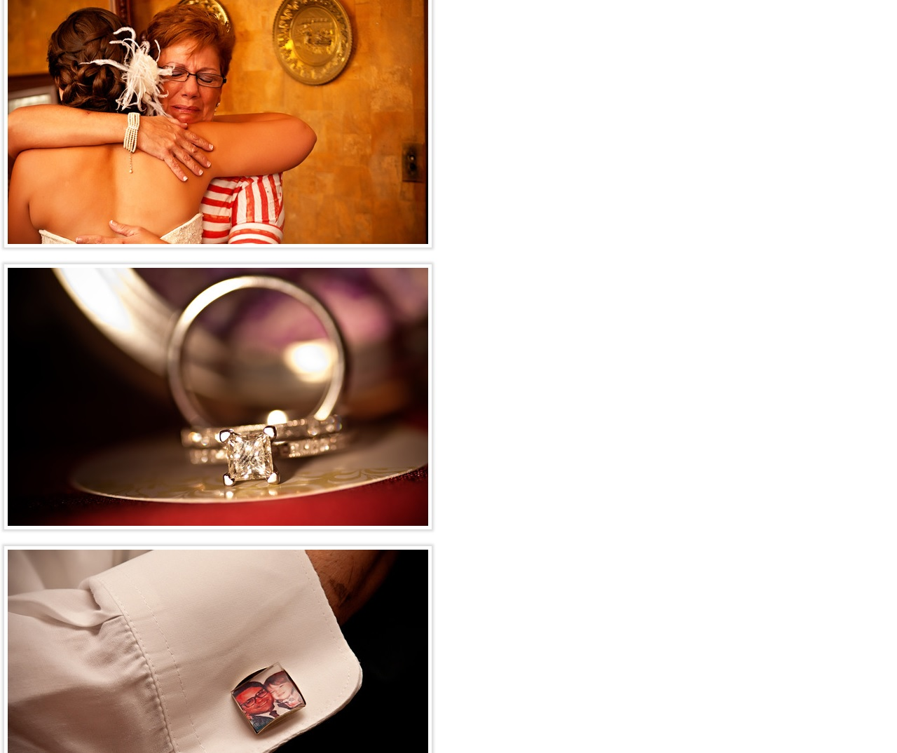 ring and cuff links