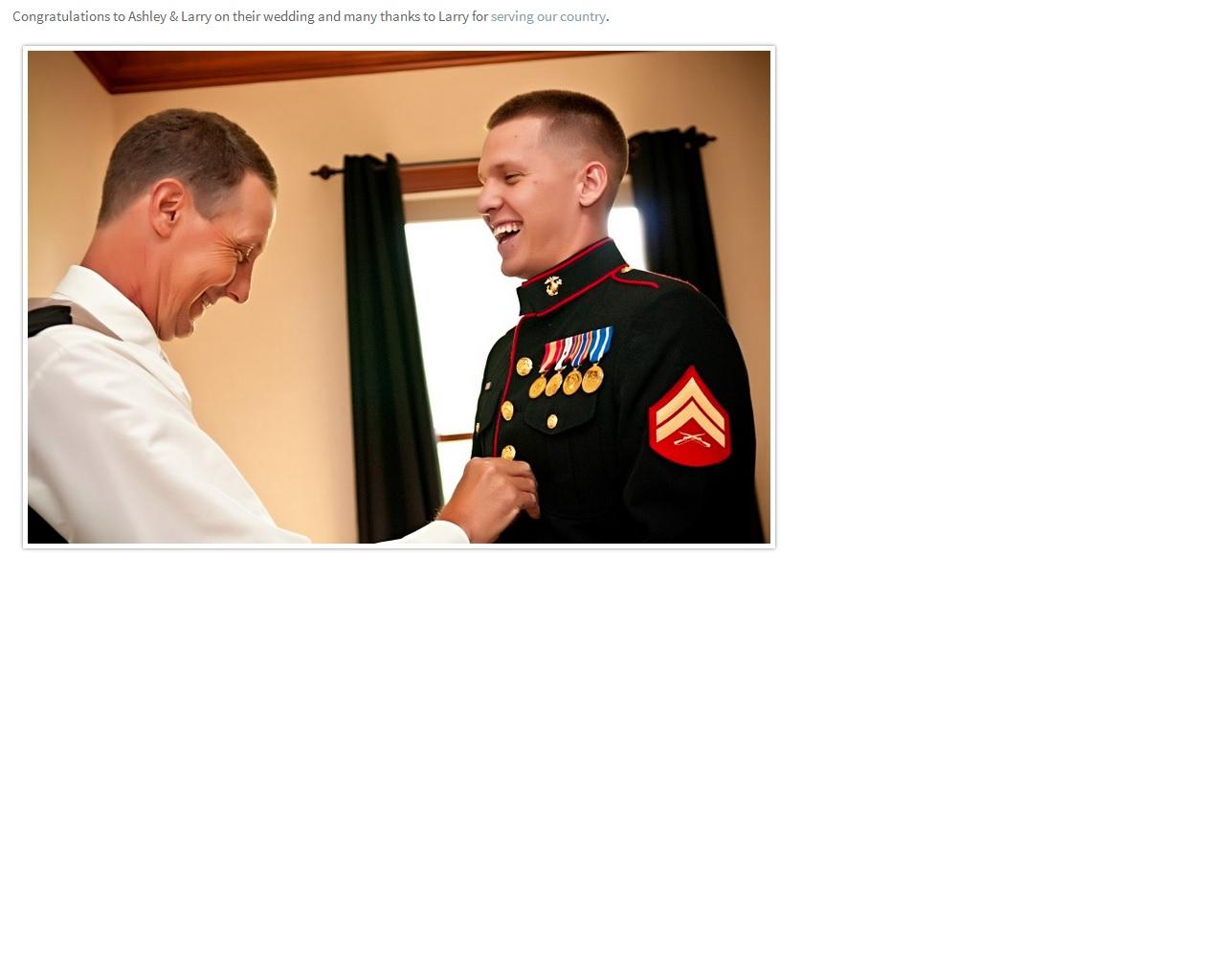 groom in uniform