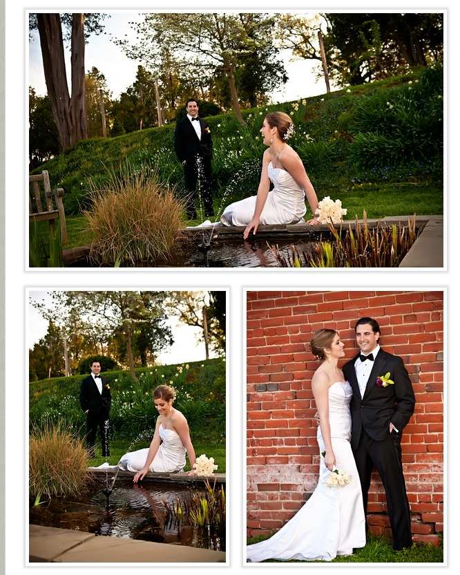 bride-and-groom-at-pond