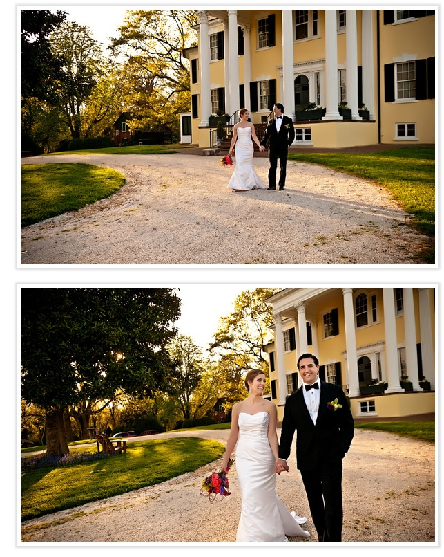 bride-and-groom-on-path-oatlands
