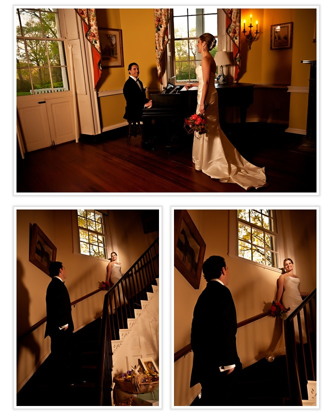 bride-and-groom-on-staircase
