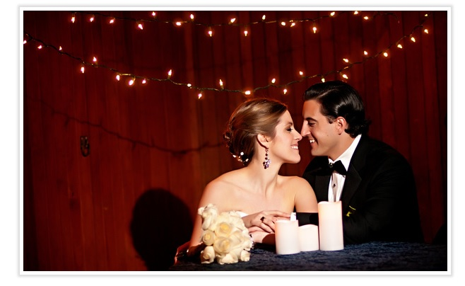 bride-and-groom-with-twinkling-lights
