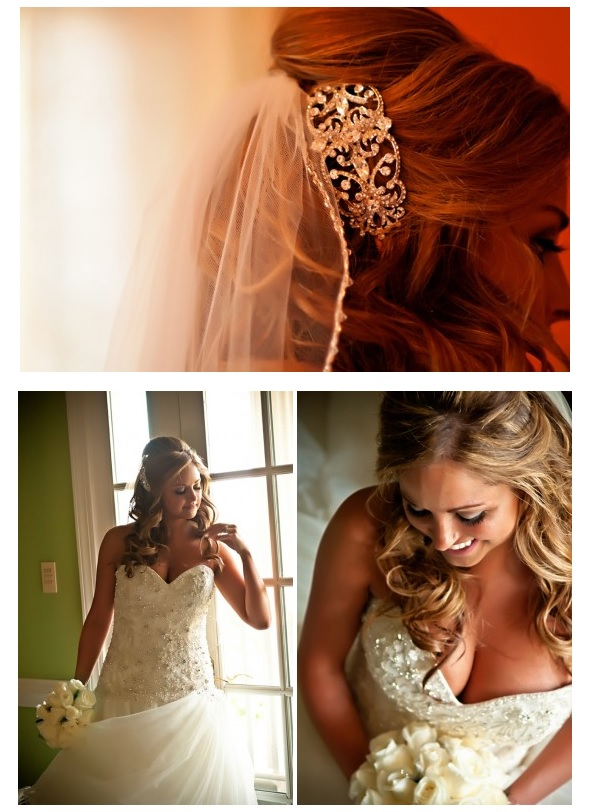 bride-in-gown-with-hair-accessory