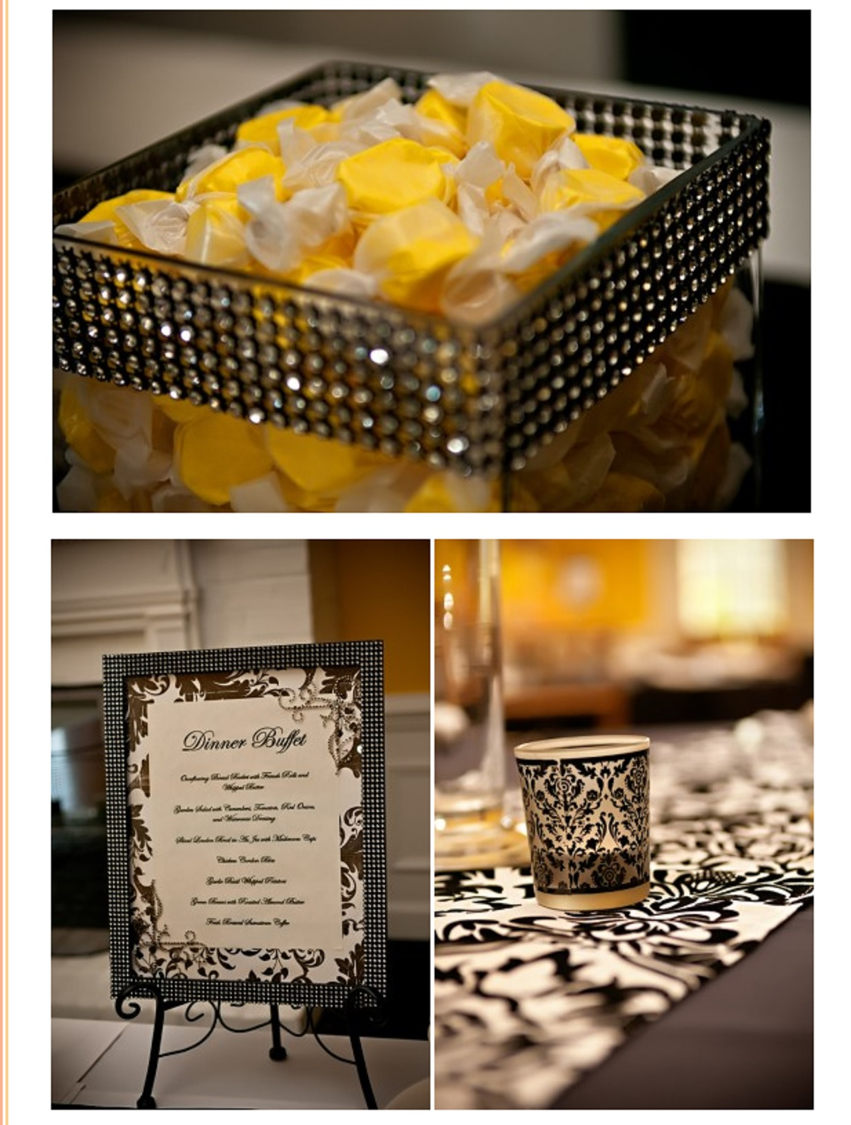 yellow-candy-damask-dinner-description