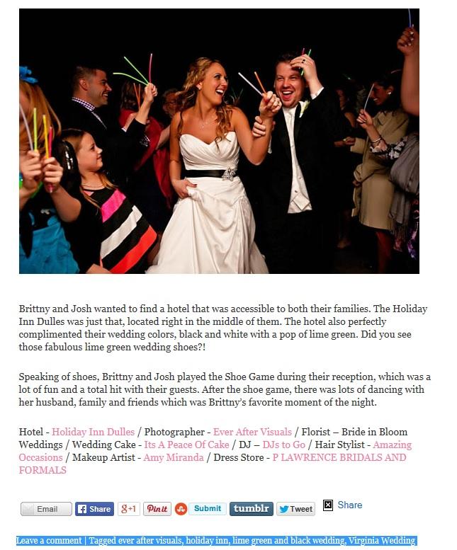 Wedding vendor list