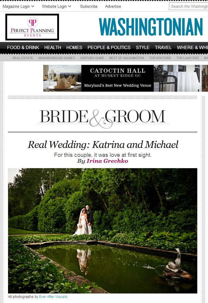 Bride and groom at Oatlands